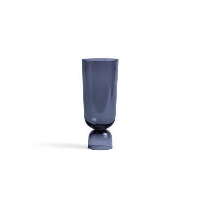 Hay Bottoms Up Vase Navy Blue
